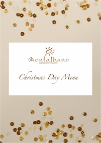 Christmas Day | Montalbano Italian Restaurant