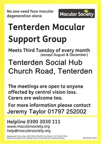 Tenterden Macular Support Group