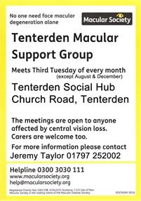 Tenterden Macular Support Group