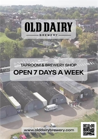 Old Dairy Brewery Tap Room Open