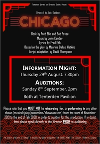 Audition | TODS Tenterden