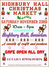 Highbury Hall Christmas Craft Market