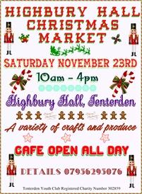 Highbury Hall Christmas Craft Market