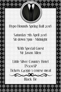 Hypo Hounds Spring Ball