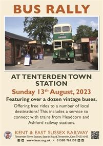 Bus Rally | Tenterden Town Station