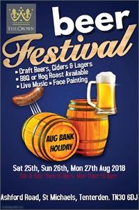 Beer Festival | The Crown St Michaels Tenterden