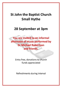 Afternoon of Music | St John