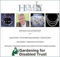 Antique Valuation Day | Hole Park