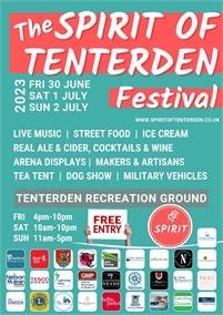 Spirit Revival 2022 - Spirit of Tenterden Festival