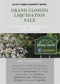 Grand Closing Down Barn Sale | Elvey Barn