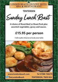 Sunday Lunch at The London Beach Hotel