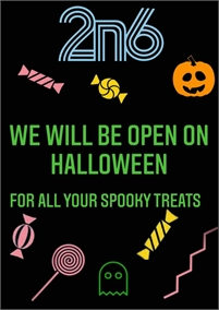 Halloween at 2n6 Sweet Boutique