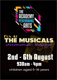 Fun At The Musicals Summer Camp