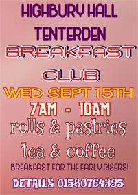 Tenterden Breakfast Club