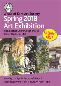 Weald of Kent Art Society Art Exhibition