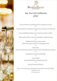 New Year's Eve at Montalbano
