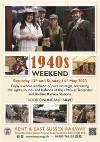 1940s Weekend | Kent & East Sussex Railway