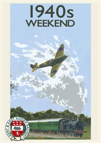 1940s Weekend at Kent & East Sussex Railway