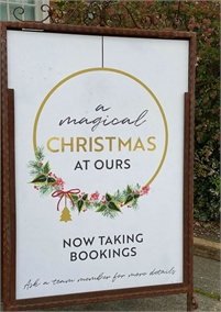 Festive Menu at the White Lion Hotel