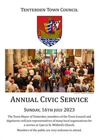 Annual Civic Service | Tenterden Town Council