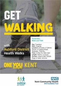 Tuesday Walk and Talk