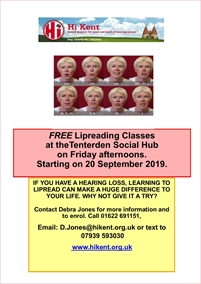 Lipreading Classes | Hi Kent