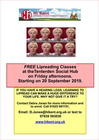 Lipreading Classes | Hi Kent