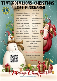 Tenterden Lions Club Christmas Float
