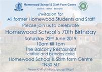 Homewood School birthday event for alumni