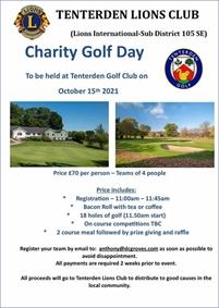 Tenterden Lions Charity Golf Day