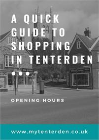 Tenterden Shopping Hours   Tenterden High Street