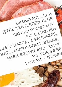 The Tenterden Club Breakfast