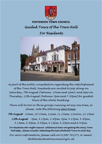 Guided Tours of the Town Hall