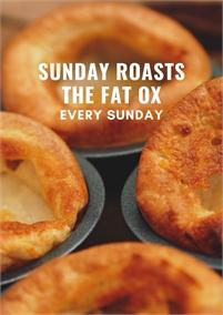 Sunday Roasts at The Fat Ox