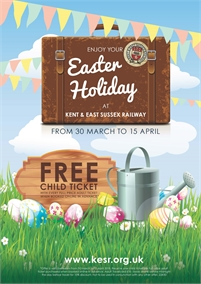 Easter Holidays   Kent & East Sussex Railway