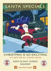Santa Specials   Tenterden Town Station