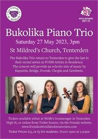 Bukolika Piano Trio   Friends of St Mildreds Church