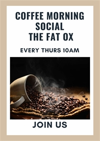 Coffee Morning Social at The Fat Ox