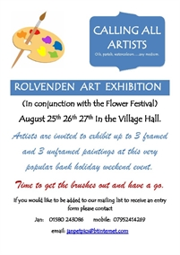 Painting Exhibition | Rolvenden