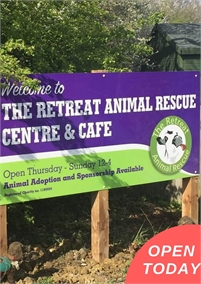 The Retreat Animal Rescue Centre and Cafe