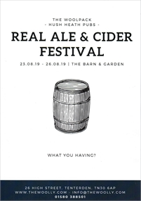 Real Ale and Cider Festival | The Woolpack