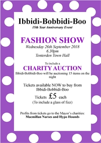 Fashion Show and Charity Auction