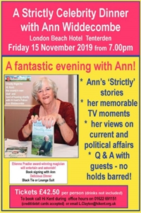 Celebrity Dinner with Ann Widdecombe