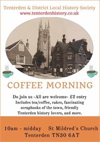 Tenterden History Society Coffee Morning