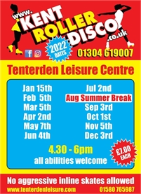 Roller Disco at Tenterden Leisure Centre