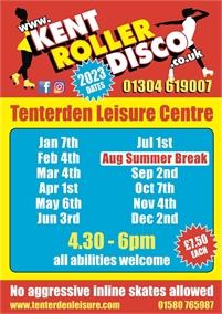 Roller Disco at Tenterden Leisure Centre