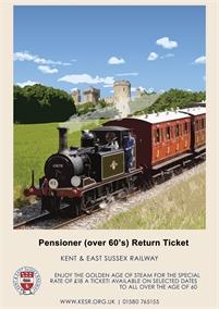 Pensioners Treat   Kent & East Sussex Railway