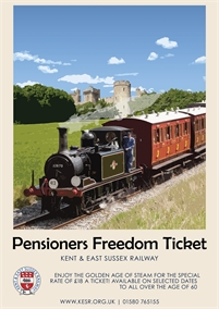 Pensioners Treat | Kent & East Sussex Railway