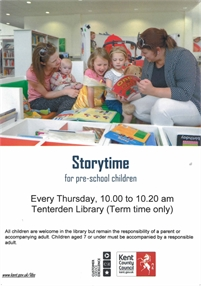Storytime for pre-school children