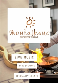 Live Music and Events | Montalbano Italian Restaurant